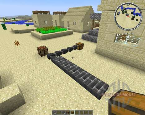 Hopper Ducts for Minecraft