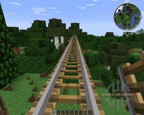 Rail Bridges for Minecraft
