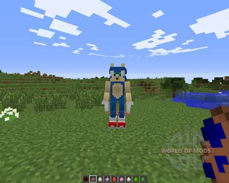 Sonic The Hedgehog for Minecraft