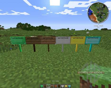 MoarSigns for Minecraft