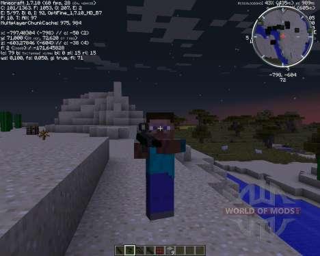 New Stefinus 3D Guns for Minecraft