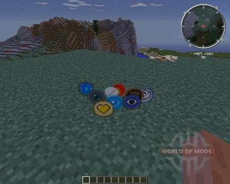 Cyan Warrior Swords for Minecraft