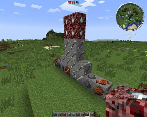 Mob Drop Ores for Minecraft
