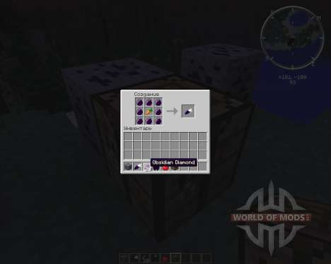 Obsidian Ores for Minecraft