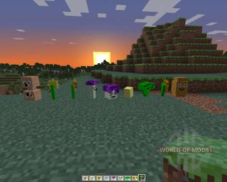 Plants Vs Zombies: Minecraft Warfare for Minecraft
