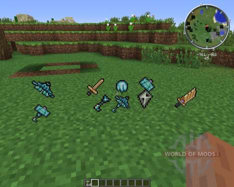 Gods Weapons for Minecraft