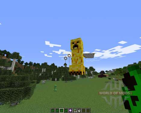 Creeper Species for Minecraft