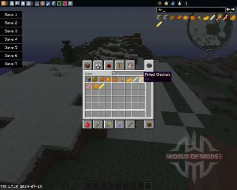 Fry The World for Minecraft