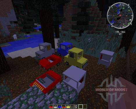 Cars and Drives for Minecraft
