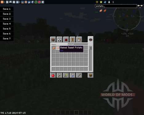 MC SweetPotato for Minecraft