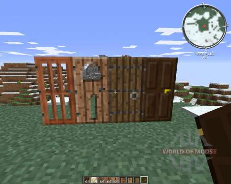 SnapDoors for Minecraft