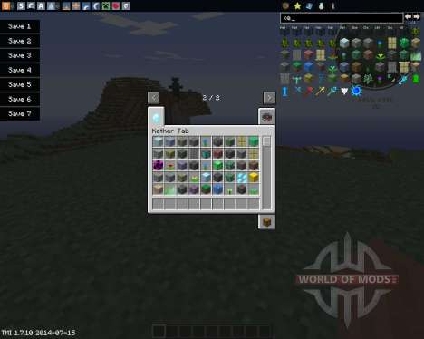 The Real Kether Dimension for Minecraft