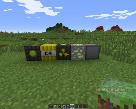 Nuclear Craft for Minecraft