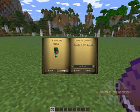 Familiars for Minecraft