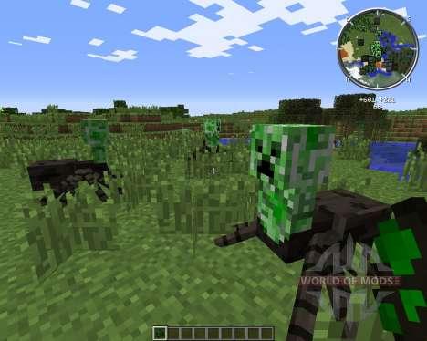 Creeper-Spider for Minecraft