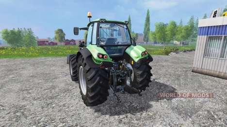 Deutz-Fahr Agrotron 7250 v2.2 Frontlader for Farming Simulator 2015