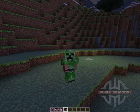 Female Creepers for Minecraft