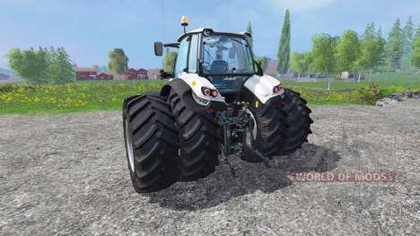 Lamborghini Mach 230 VRT dynamic twin rear wheel for Farming Simulator 2015