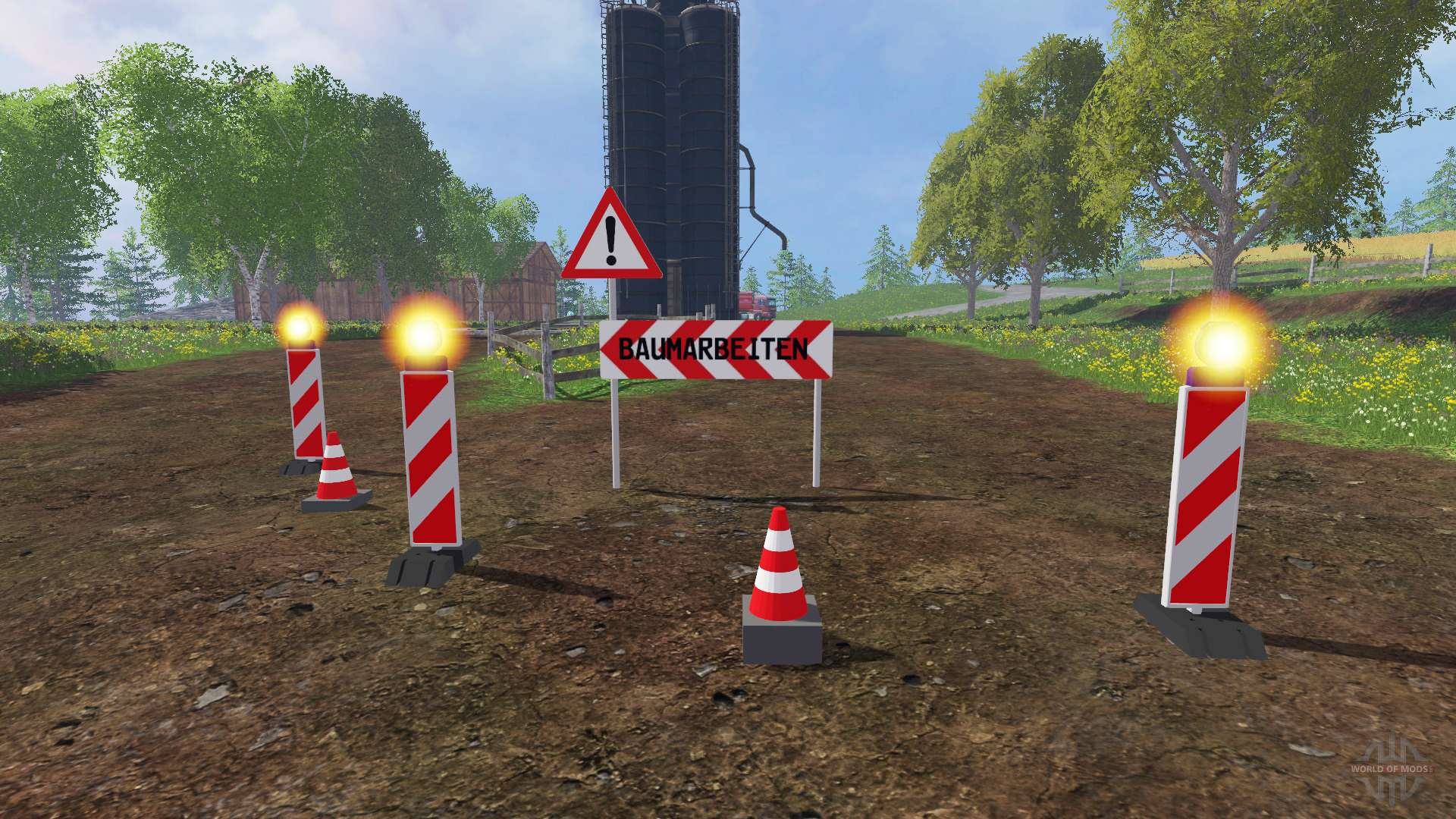 Mini mod pack for Farming Simulator 2015