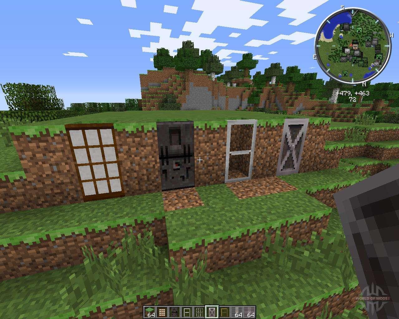 minecraft malisis doors