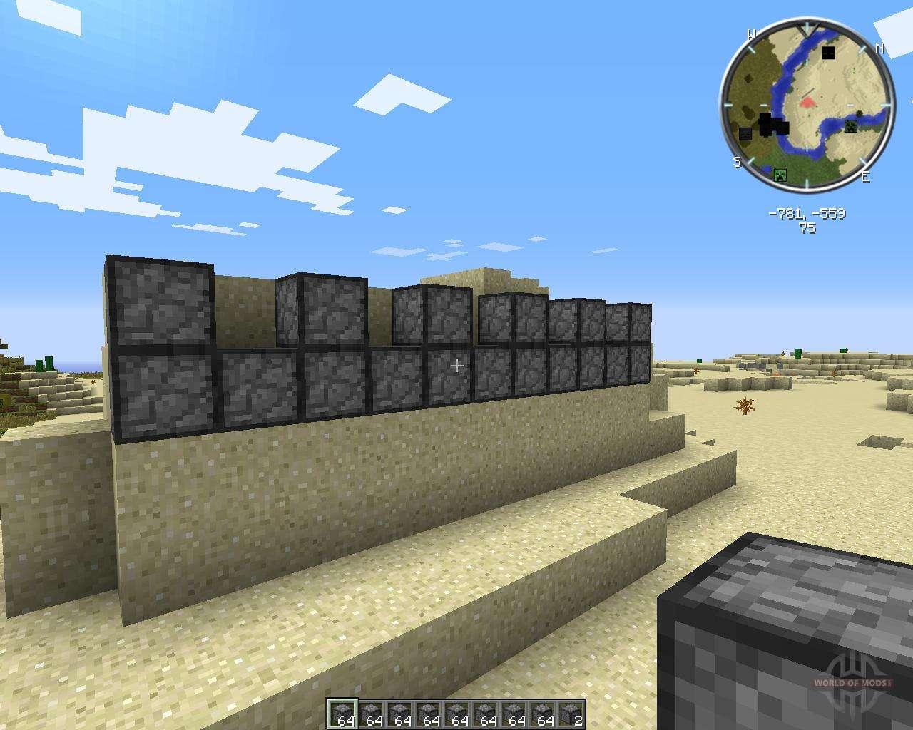 minecraft compressed cobblestone