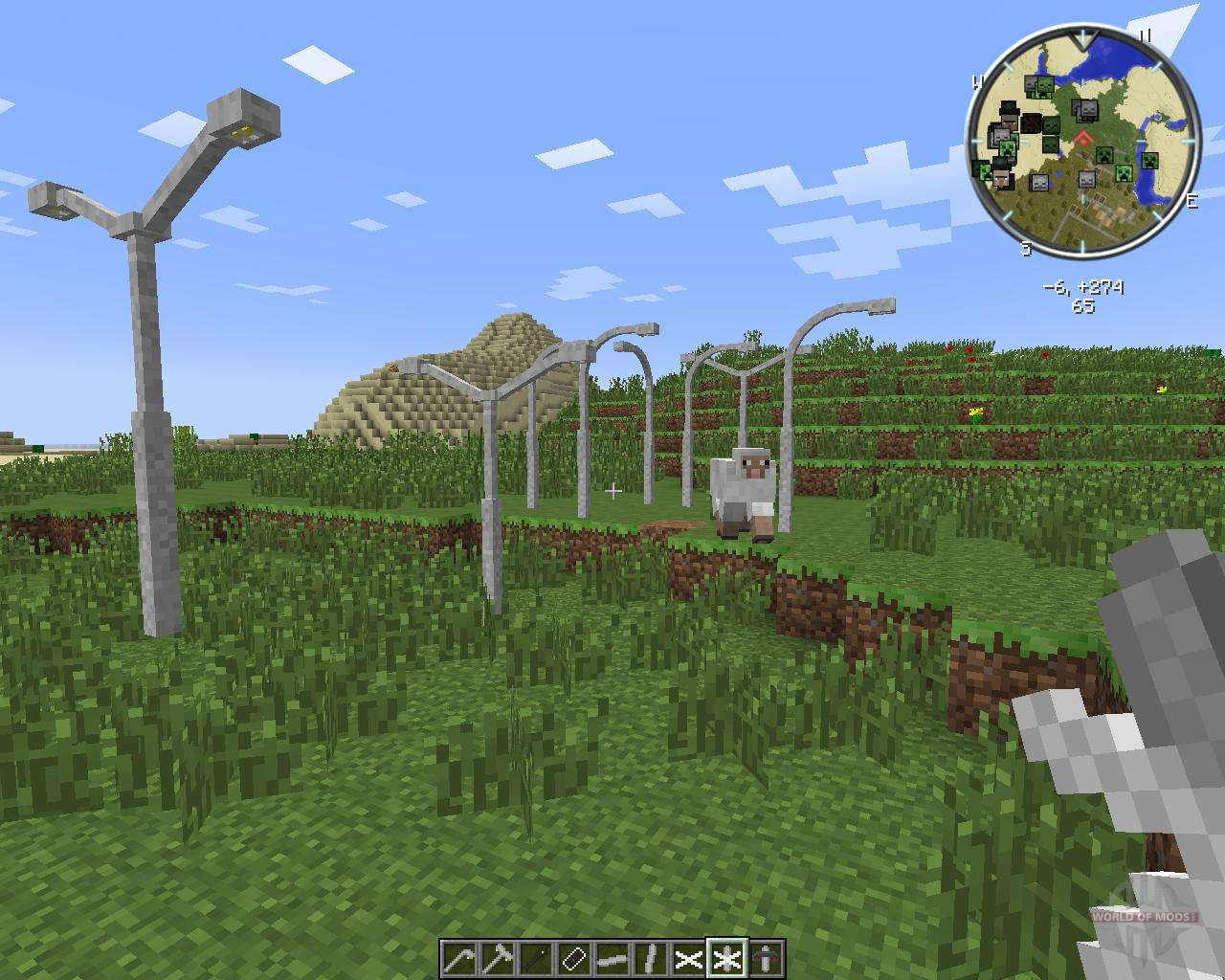 lamps and traffic lights for minecraft - Lampadaire Minecraft