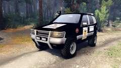 ВАЗ-21236 Chevrolet Niva black for Spin Tires