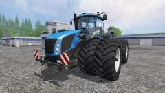 New Holland T9.560 with dynamic twin wheels