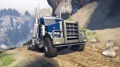 Peterbilt 379 v1.1 light blue for Spin Tires