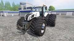 New Holland T8.320 620EVOX v1.11 for Farming Simulator 2015