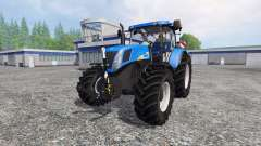 New Holland T7040 v2.0 for Farming Simulator 2015