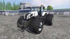 New Holland T8.320 600EVOX v1.12 for Farming Simulator 2015