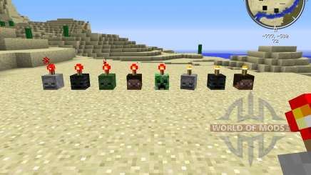 MC SkullCandles for Minecraft