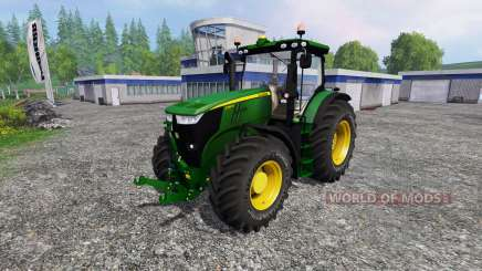 John Deere 7280R v2.0 for Farming Simulator 2015