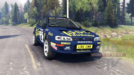 Subaru Impreza for Spin Tires