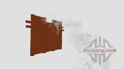 A wooden dam for Farming Simulator 2015