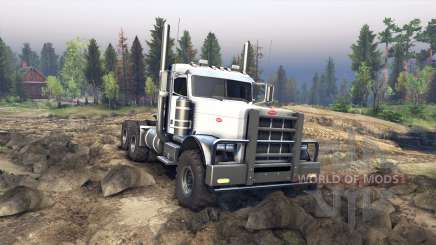 Peterbilt 379 v1.1 white for Spin Tires