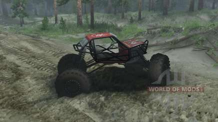 Rock Crawler for Spin Tires