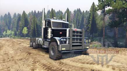 Peterbilt 379 black for Spin Tires