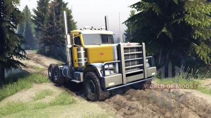 Peterbilt 379 v1.1 yellow for Spin Tires
