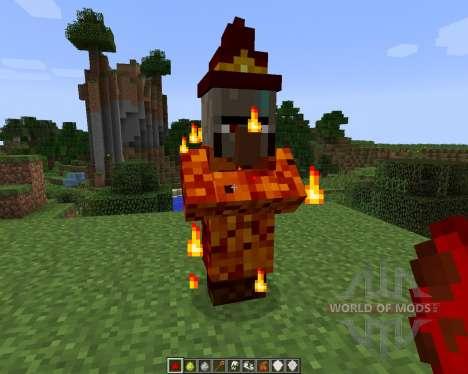 Elemental Witch [1.7.2] for Minecraft