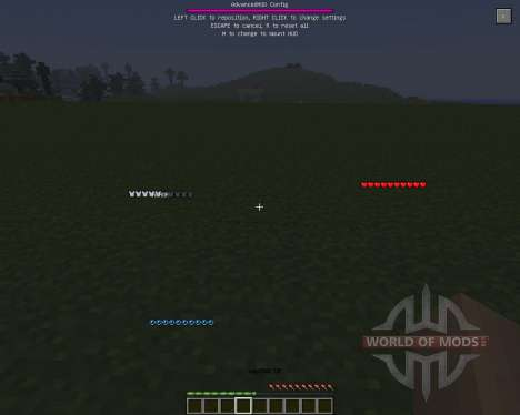 Advanced HUD [1.6.4] for Minecraft