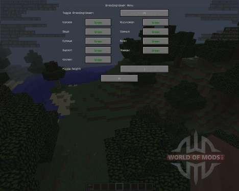 Breeding Viewer [1.8] for Minecraft