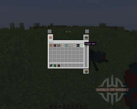 Masks Mod by Hamster_Furtif [1.8] for Minecraft