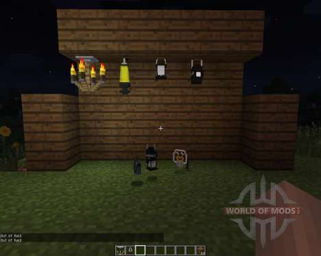 Amnesia Lights [1.7.2] for Minecraft