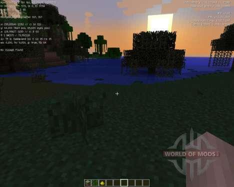 Village Info [1.7.2] for Minecraft