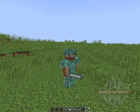 Quartz and Prismarine ArmorTools for Minecraft