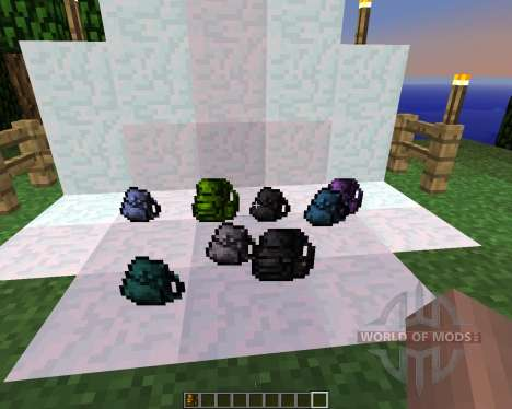 Backpacks [1.5.2] for Minecraft