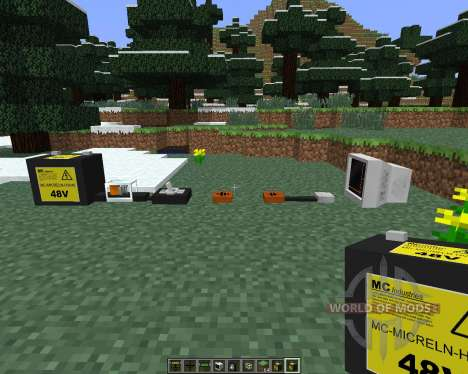 The Electrical Age [1.6.4] for Minecraft