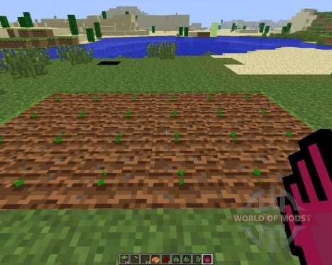 Planter Helper [1.6.4] for Minecraft